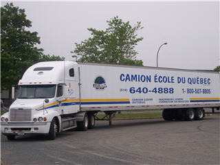 Camion ecole du qu bec montr al qc 3461 rue robert for Camion de location ikea